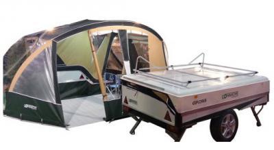 Remolque de acampada - Montana Explorer - (Madrid)