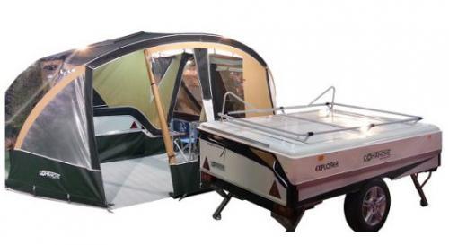 Remolque de acampada - Montana Explorer