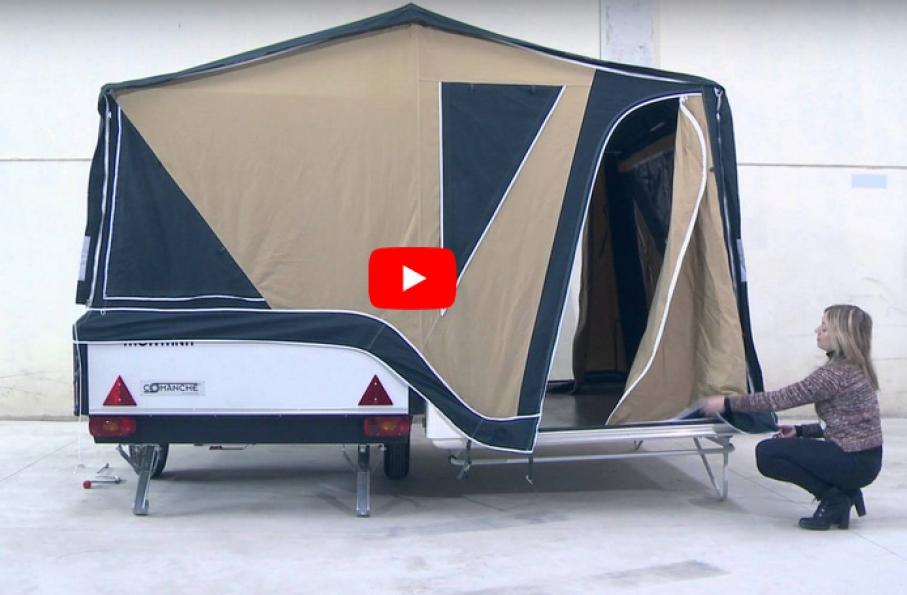 Remolque acampada - vídeo montaje